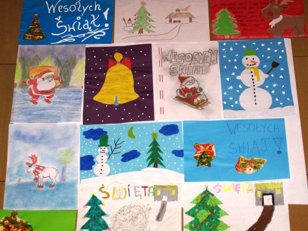 Polish Christmas Cards | Carolling In Europe - an online eTwinning ...