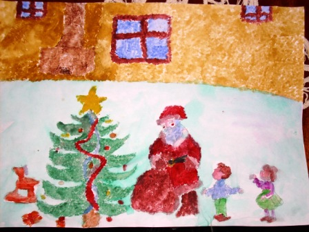 Christmas Day Drawing.Christmas Drawings From Romania Carolling In Europe An